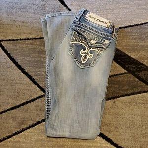 Rock Revival Doyle Distressed skinny Jean